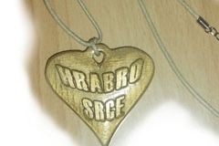 Ogrlica- privjesak zlato
